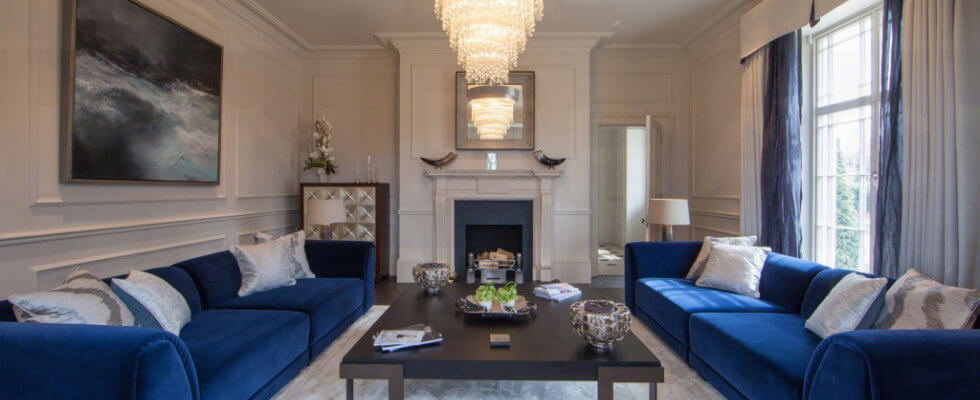 Best family living room designs by british interior designers for Top british interior designers