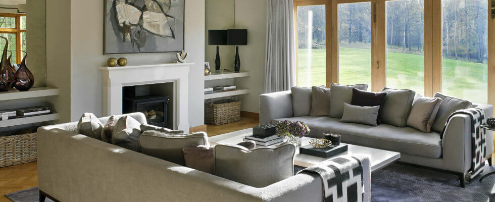 Best family living room designs made by British Interior Designers
