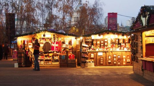 What's on in London: Christmas Market at Tate Modern