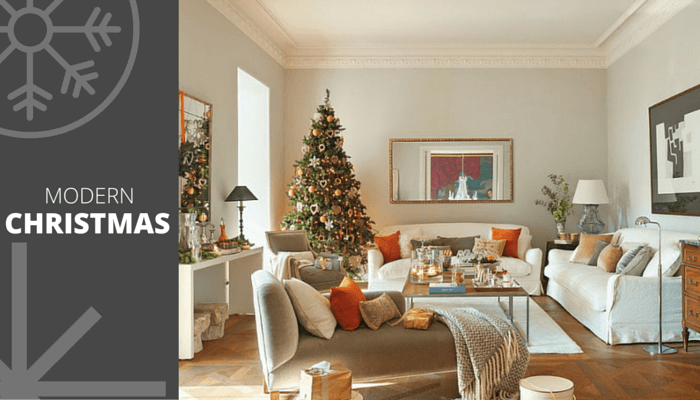 5 beautiful design moods for your Christmas home decor