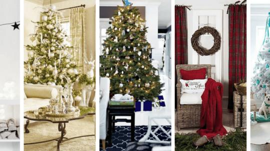 5 colour schemes for a unique Christmas Home design