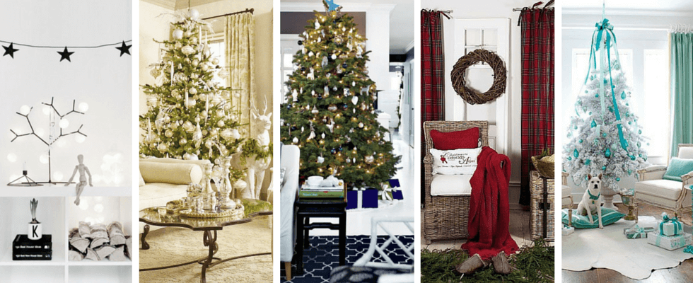 5 colour schemes for a unique Christmas Home design