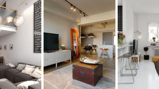 5 great design tricks and ideias for small apartments