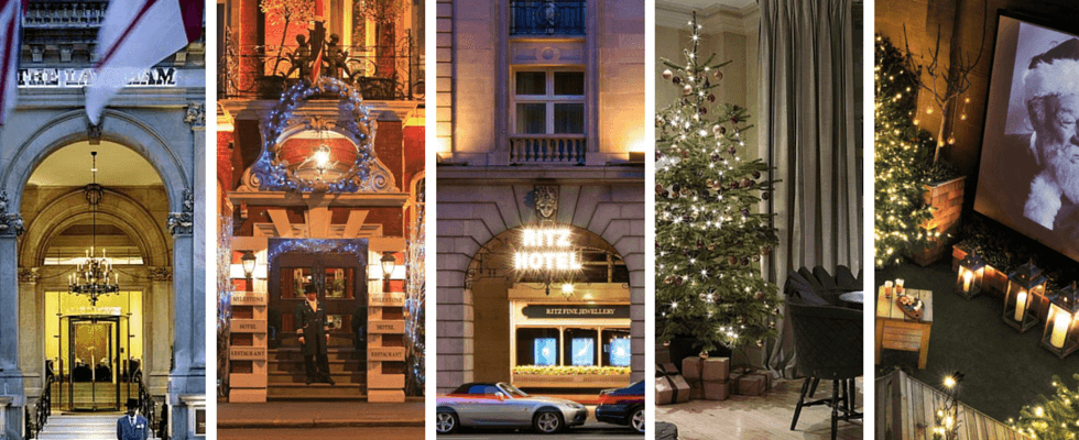Hotels in london 5 unique places to spend holiday season for Unique hotels london