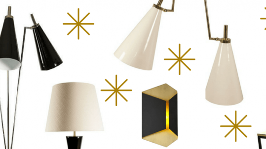 5 beautiful lamps to enlighten the season