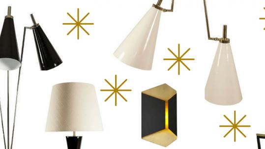 5 beautiful lamps to enlighten the season