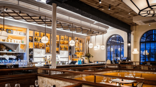 6 UK restaurant designs in unexpected places