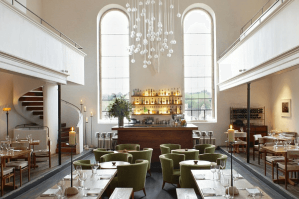 6 UK restaurant designs in unexpected places