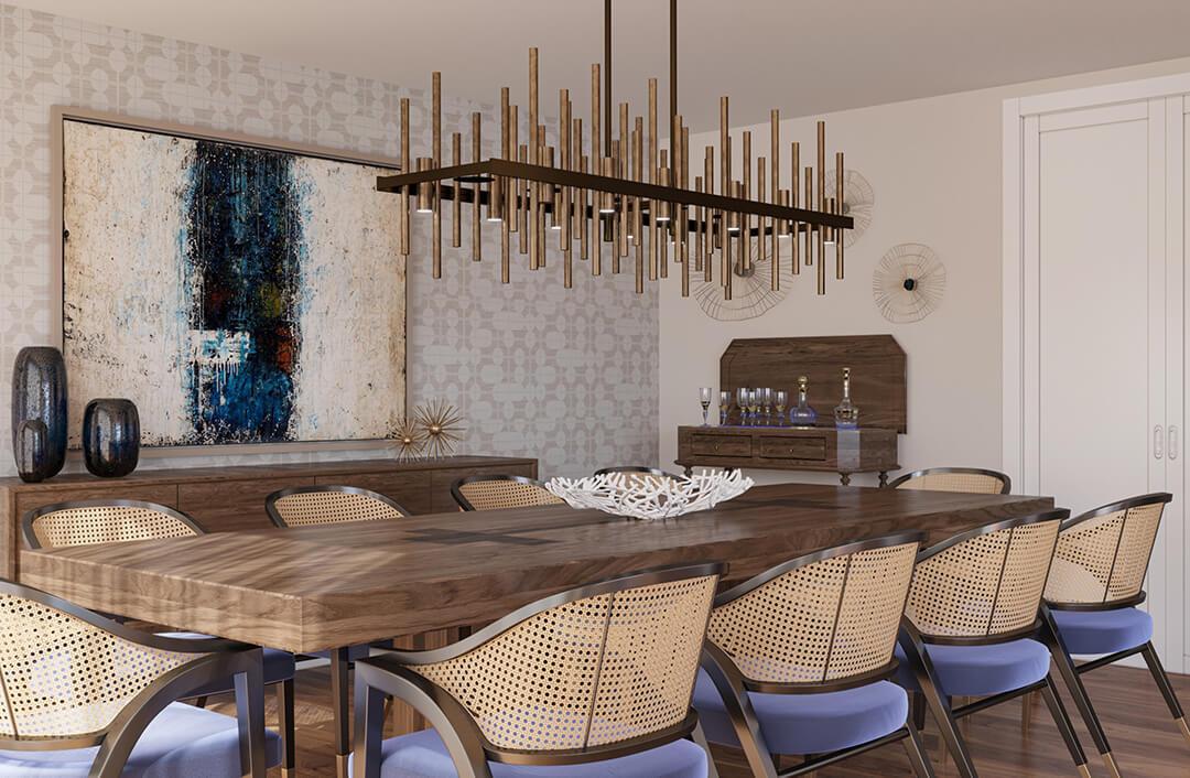 Porto – a timeless scheme for a new luxury apartment