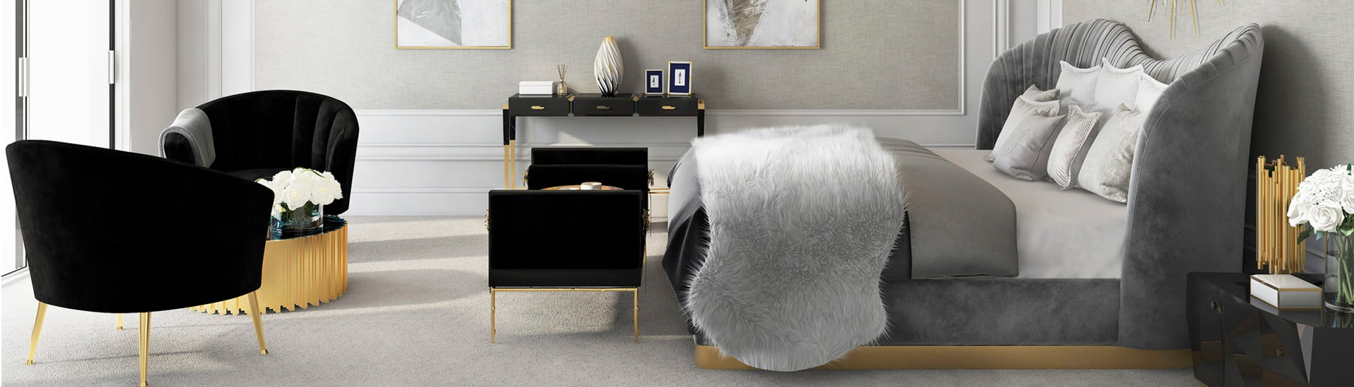 Contemporary Designer Beds