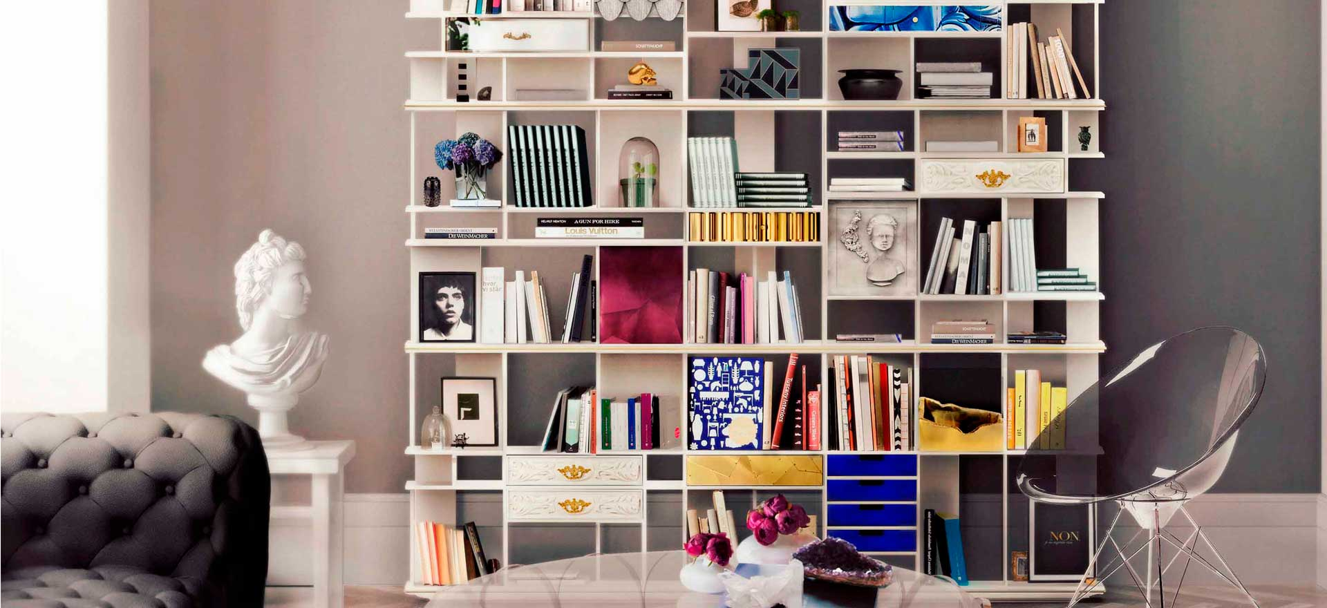 Contemporary Designer Bookcases