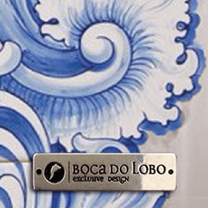 Acabamentos Hand Painted Tile (blue)