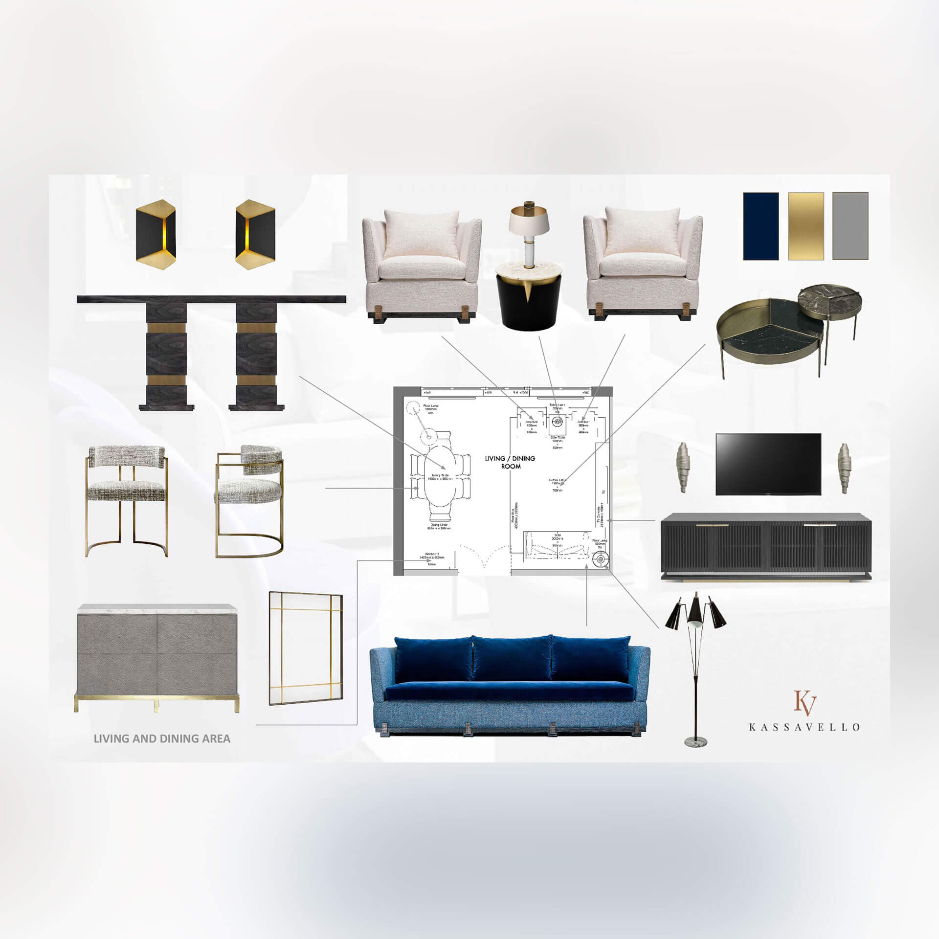 Furniture Layout & Room Design