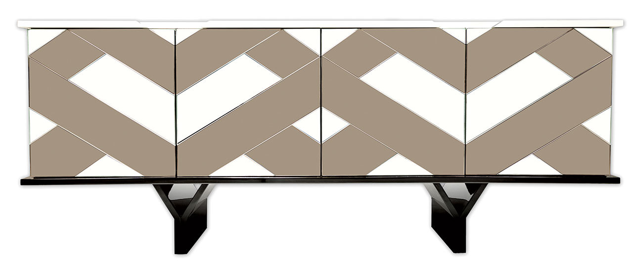 A sideboard with one drawer and one shelf inside. Bespoke furniture options available. Handcrafted in Portugal.