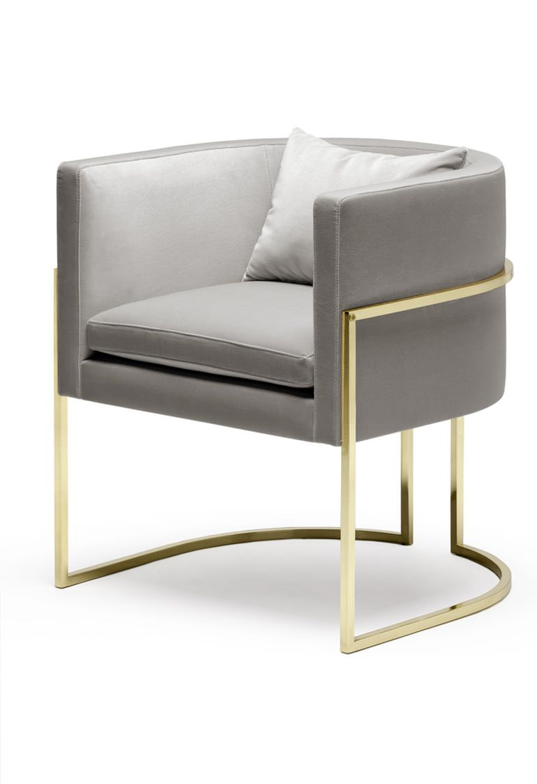 Julius chair furniture kassavello bespoke and for Chair cloth design