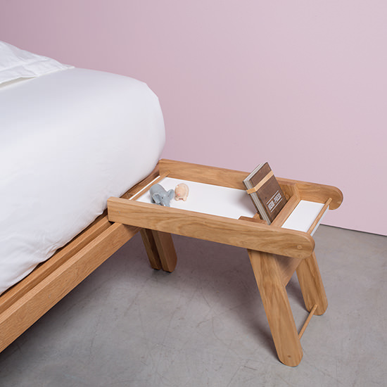 Bracara Bed with Bedside tables