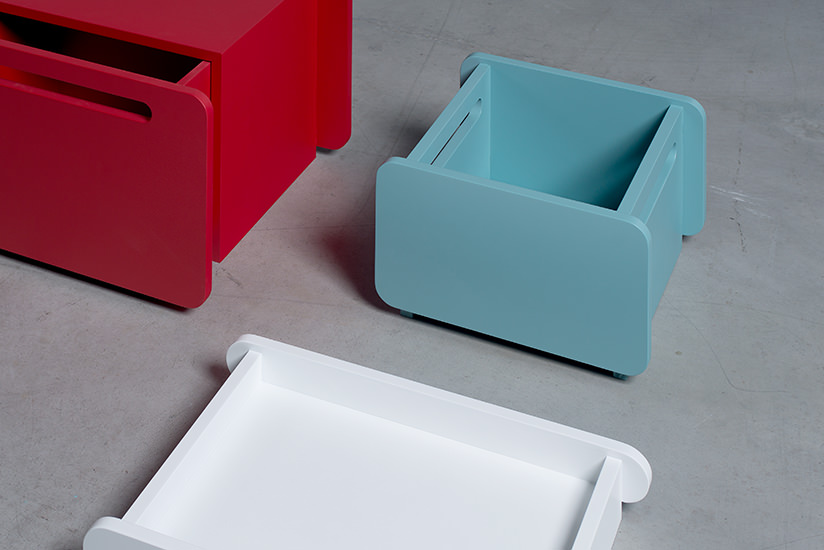 Our Bracara Tray can serve up drinks, collect empty plates or catch mail. Available in our range of colours.