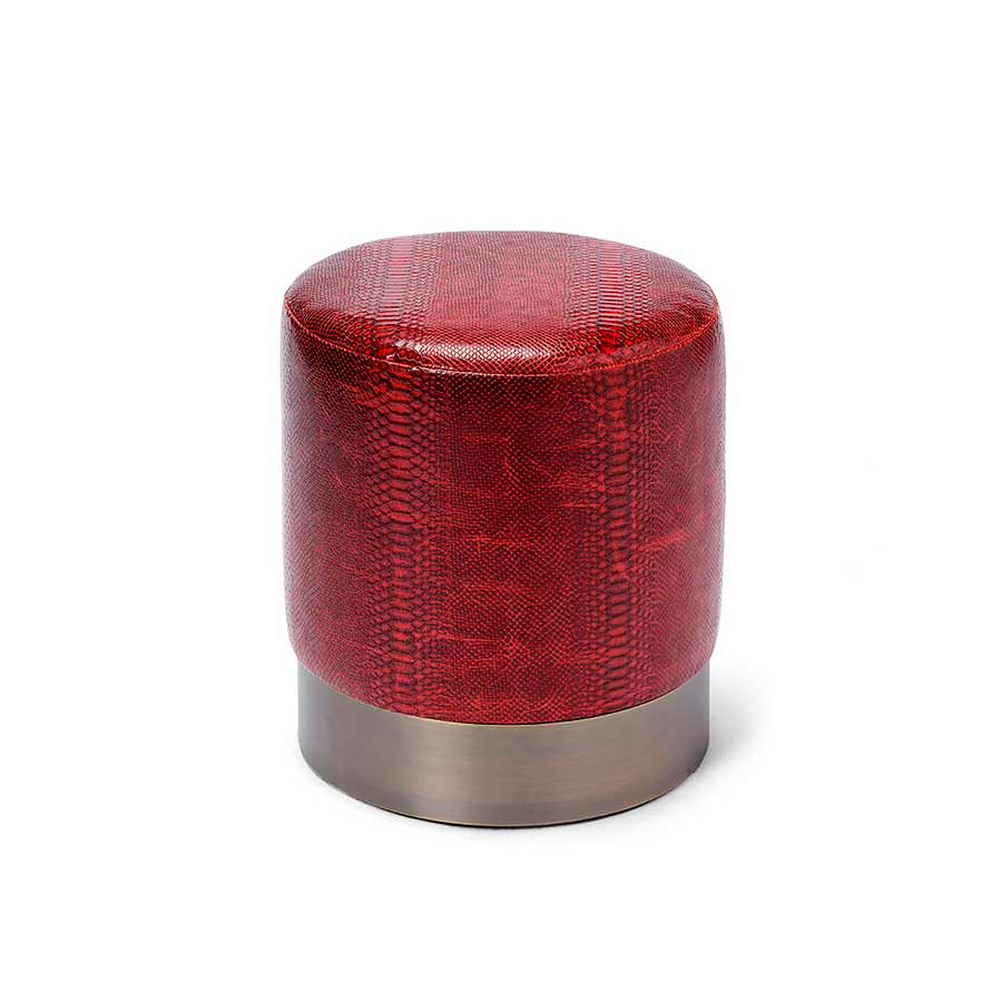 Lune C Stool LEATHER - Products