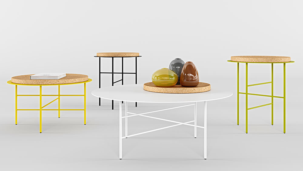 Cap table - Coffee and side tables
