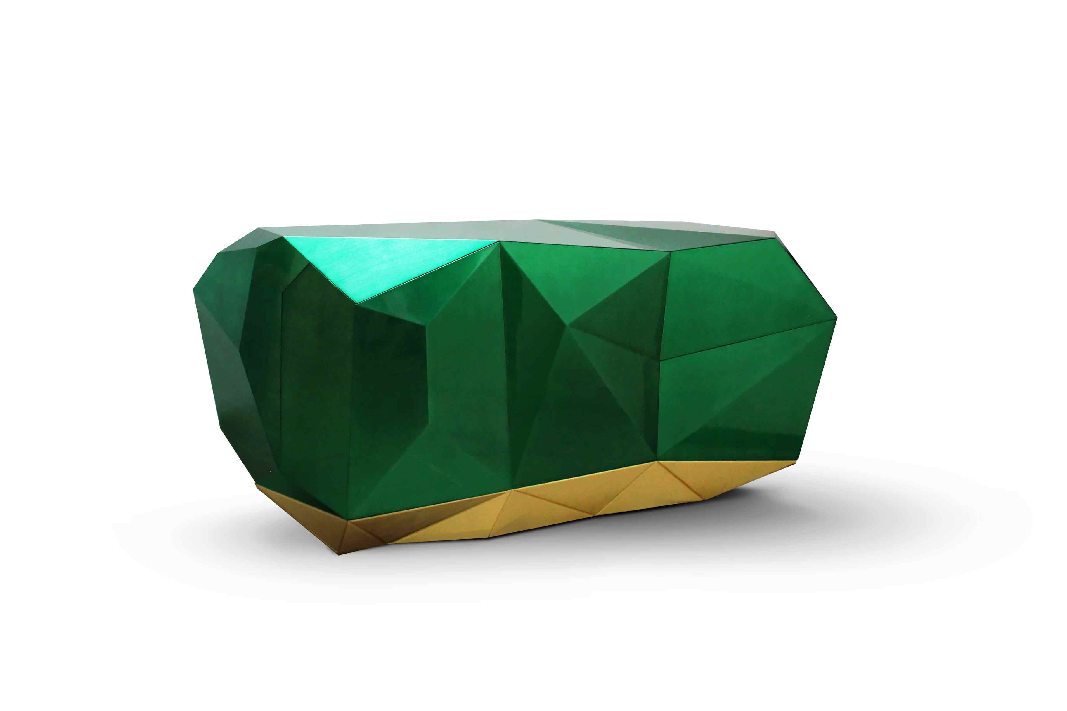 Diamond Emerald Sideboard - Furniture