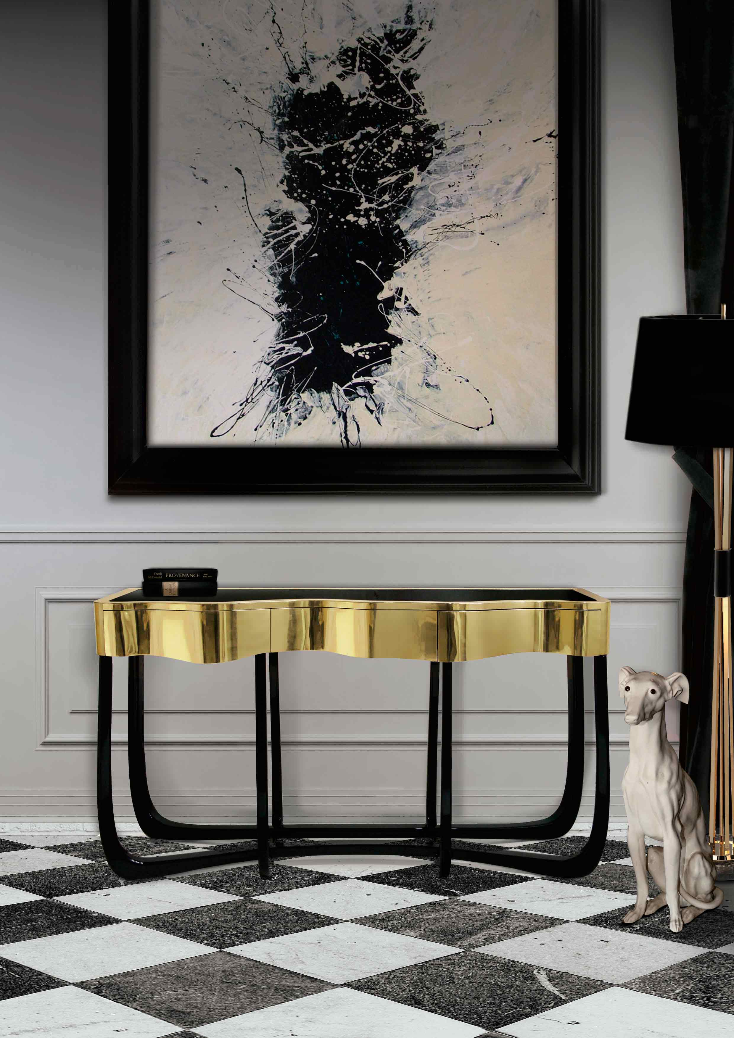 SINUOUS CONSOLE - Furniture