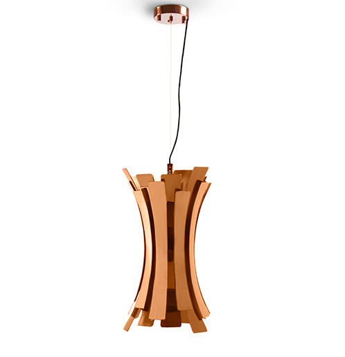 Etta suspension fixture conveys a nostalgic retro glow isnpired by the jazz singer Etta jones. A luxurious pendant light which provides a soft and warm light through its (...)