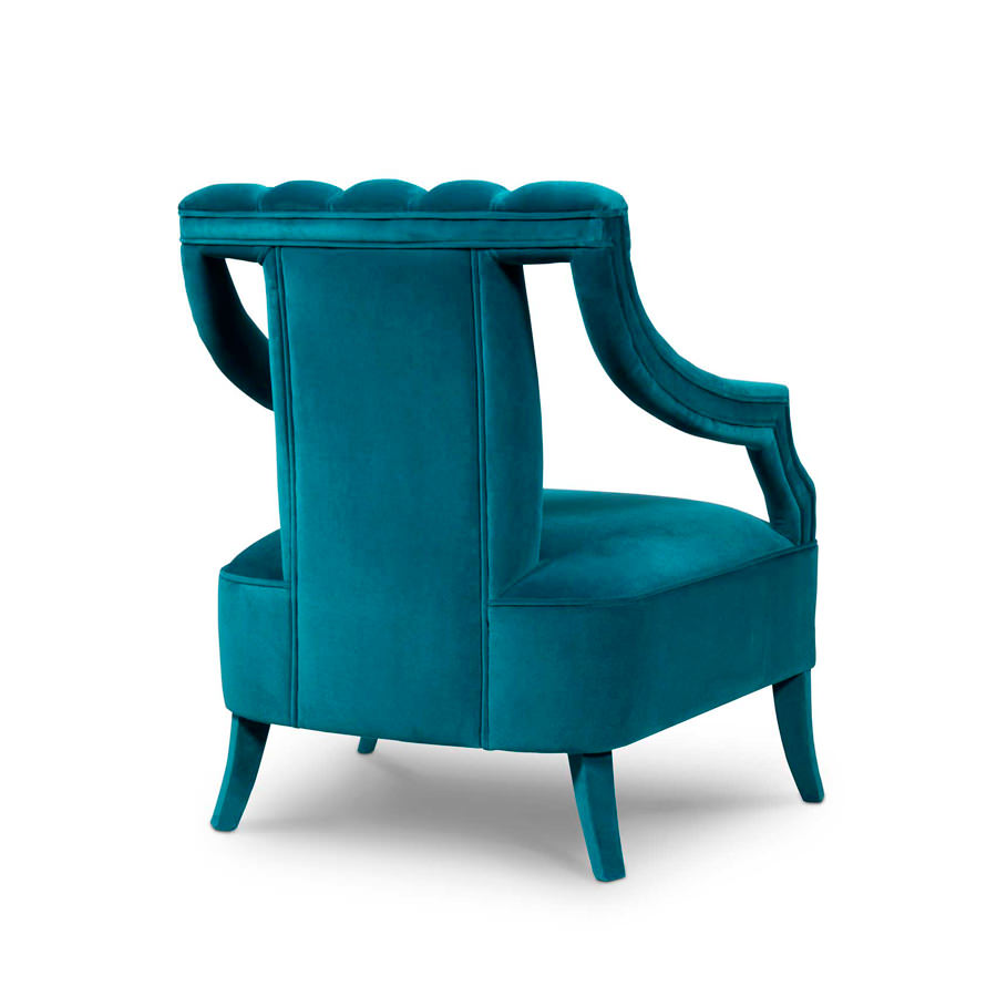 Comfortable and relaxing, the Cayo armchair it´s the perfect choice for an exquisite room. Choose your favourite from a large scale of available colours.