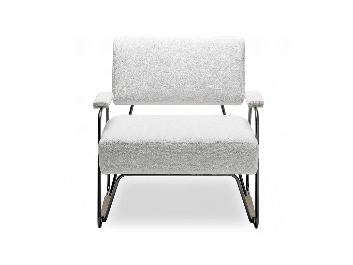This modern chair brings luxury to the simple design, something bold and at the same time so clean. Straight lines and stunning details.