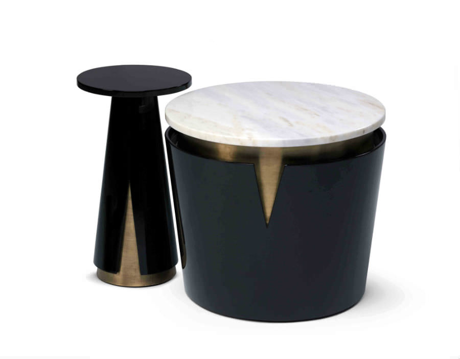 Mini Moon Side Table - Furniture