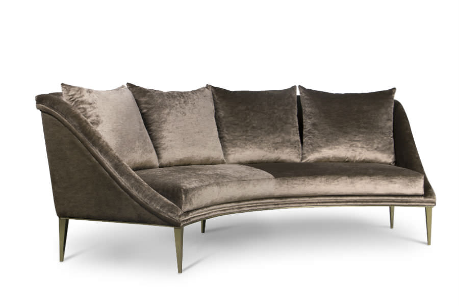 Geisha Curve Sofa - Products