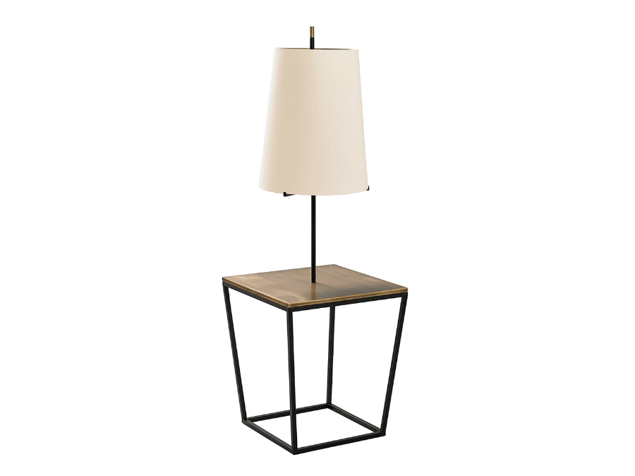 Square table lamp - Lighting