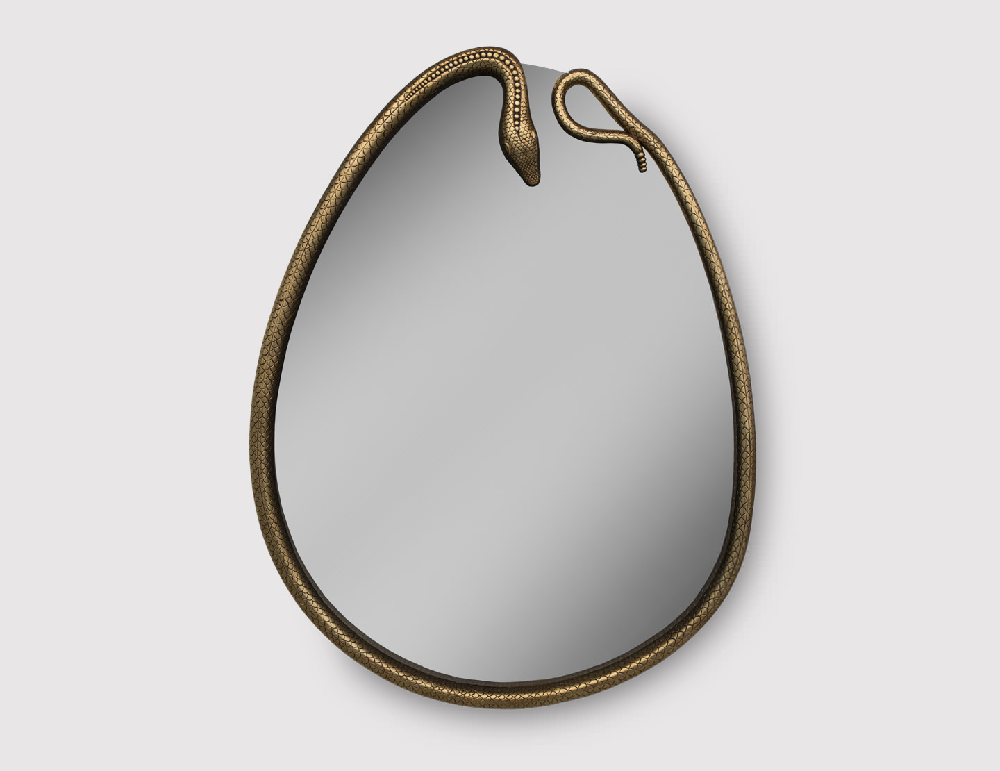 Serpentine Mirror