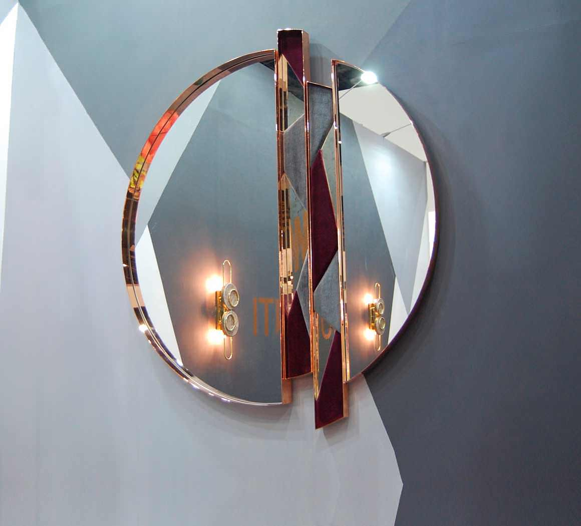 Zircon is known as the 'stone of virtue'. Available in different colours and shapes, Zircon Wall Mirror is the perfect piece for contemporary home decor.
