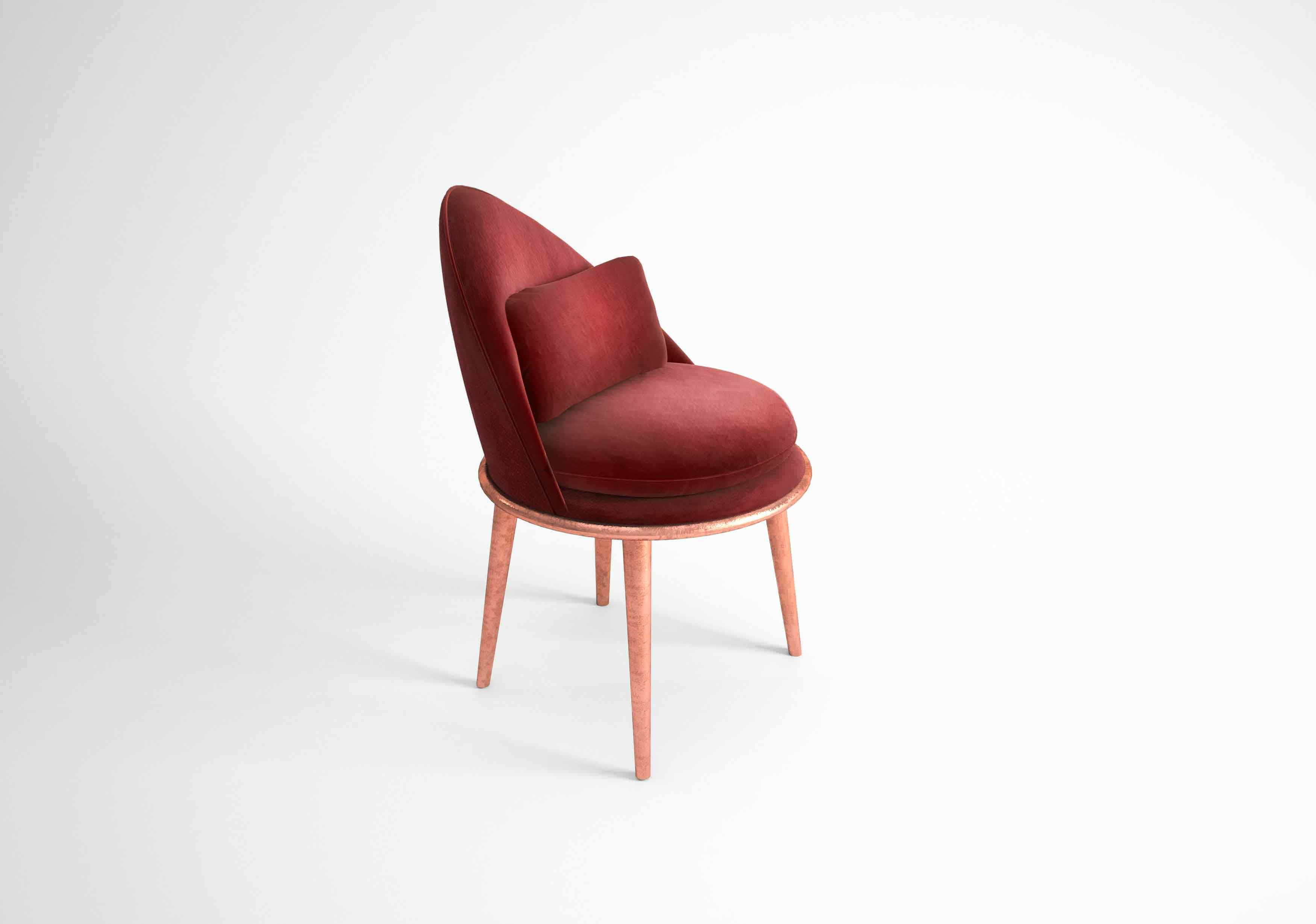The Garnet dining chair is a luxurious dining chair that will bring so much glamour and charming beauty to your dining room. Make that chair a masterpiece in your home.