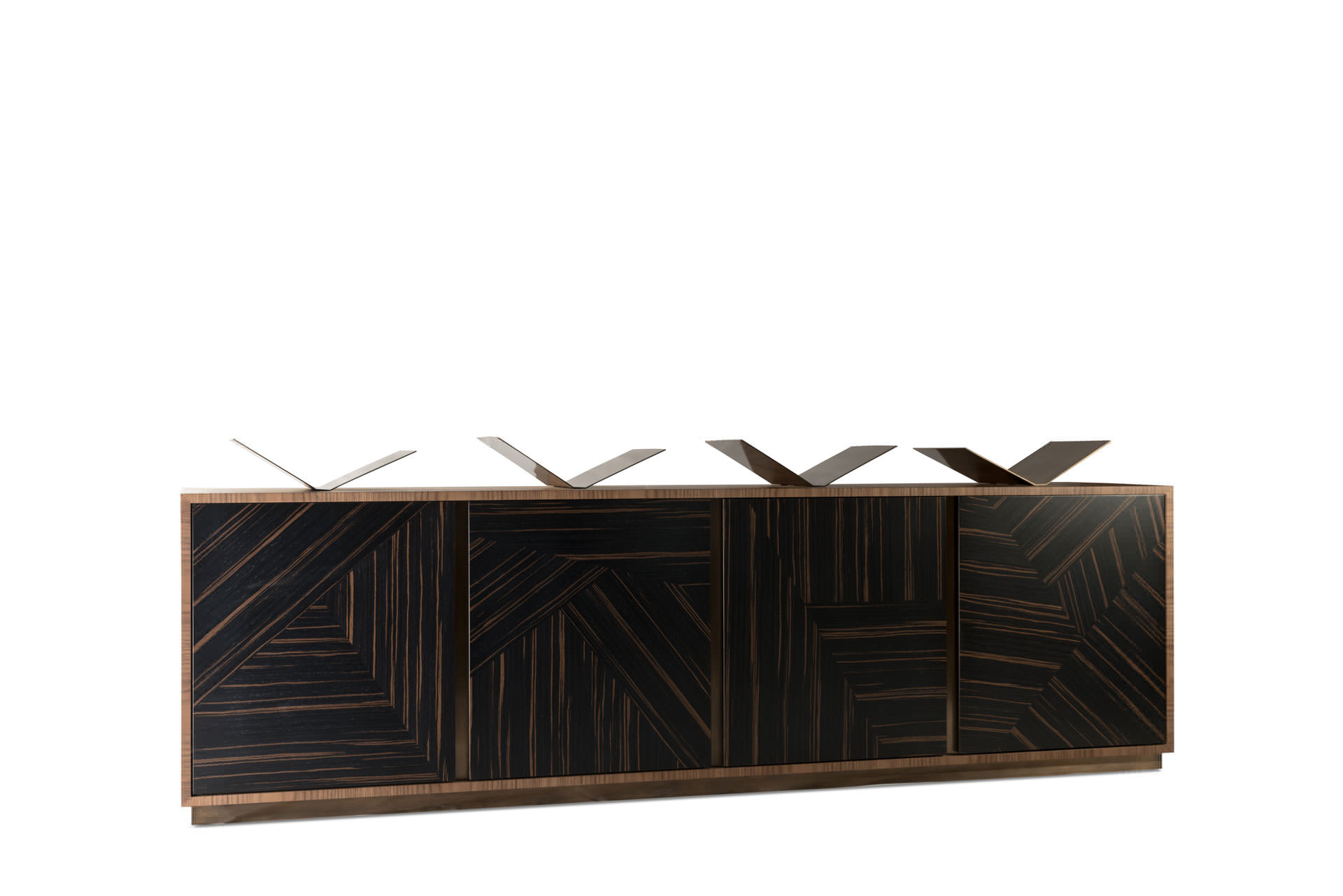 Sideboard with integral book holders - Products