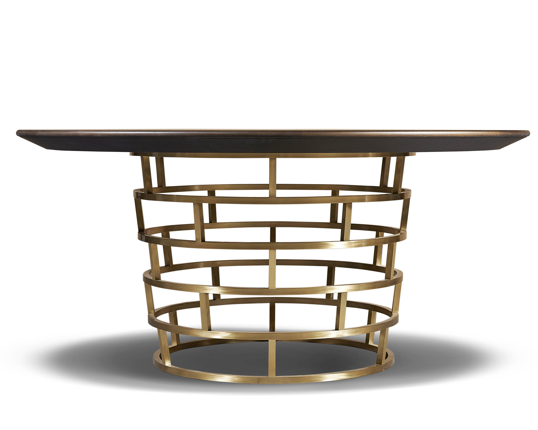 Refined brass dining table  - Tables