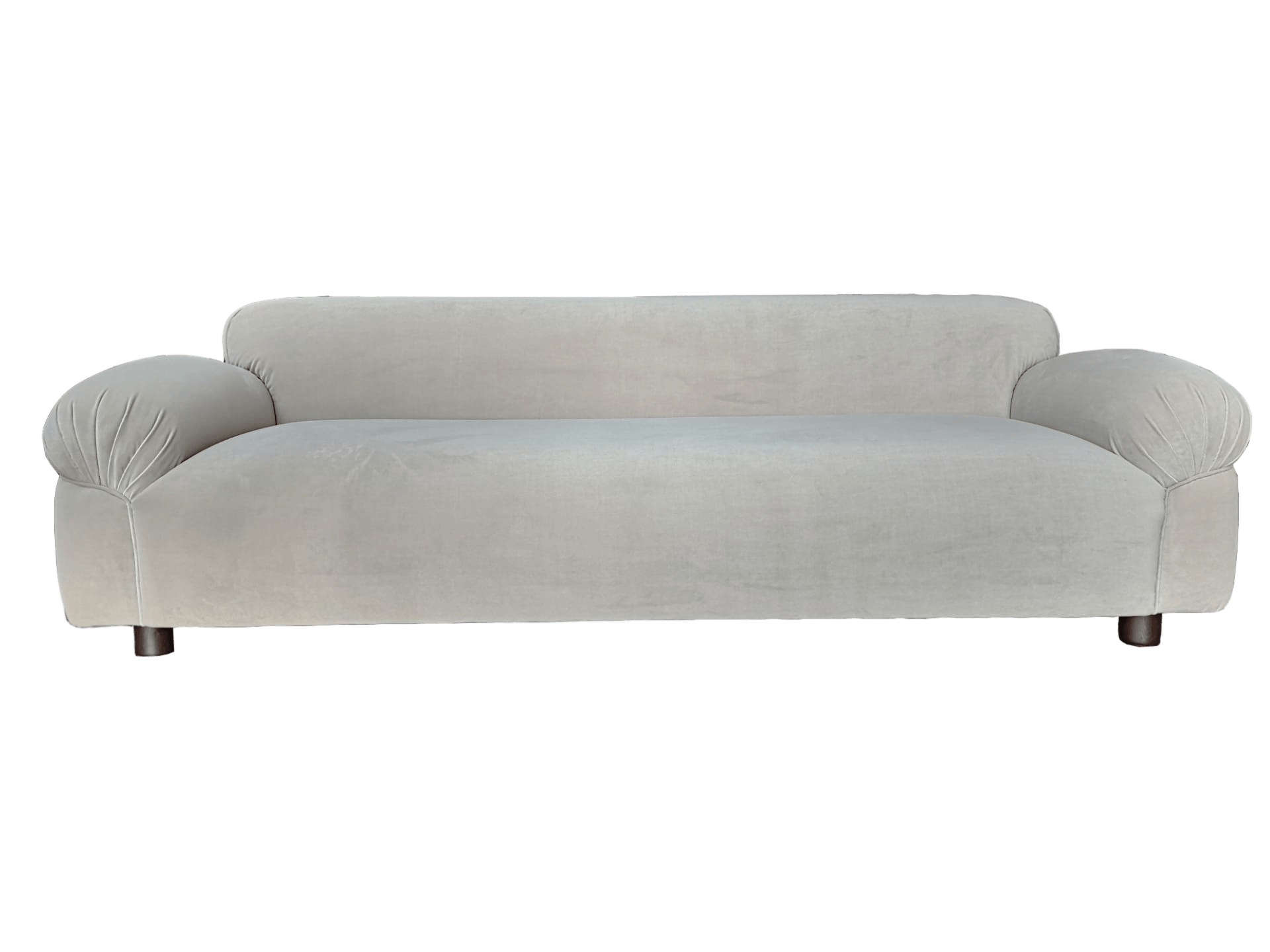 contemporary bulbous sofa